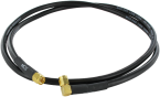 Antenna cable 0° to 90° - 4 m - SMA
