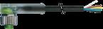 M12 Bu. gew. mit LED freiem Leitungsende