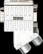 M12/D-Sub Profibus Adapter 35°