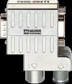 M12/D-Sub Profibus  Adapter 90°