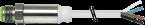 M12 STEEL MALE 0°