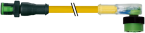 MQ12 MALE 0° / MQ12 FEMALE 90° LED