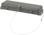 B24 Schutzkappe (Kunststoff/Querverriegelung)