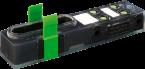 EXACT8, 4XM8, 3 POLE BASIC HOUSING, NPN-LED'S