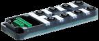 EXACT12, 8XM12, 4 POLE BASIC HOUSING, NPN-LED'S