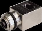 Adapter M12 Bu. X-cod. 0° / RJ45 St. 90° Gigabit