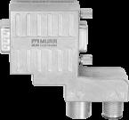 M12/D-Sub Profibus  Adapter 90°-Zn