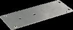 V2A-Bodenplatte MVP Metall 8-fach