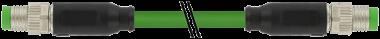 M8 MALE 0° / M8 MALE 0° SHIELD, ETHERCAT