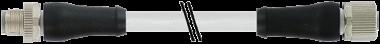 M12 Power L-coded 5pol. male 0° / female 0°