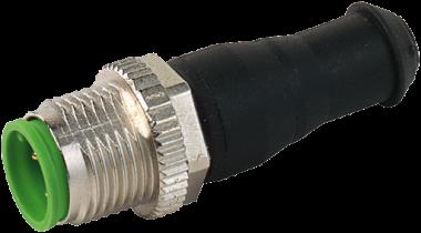 M12-Bus terminating plug for CUBE67