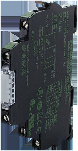 MIRO TH 24VDC SK 5P OPTO-COUPLER MODULE
