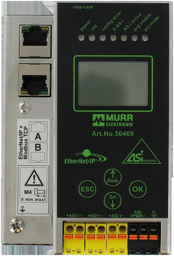 Gateway Ethernet-IP/AS-i, 1 Master, P24
