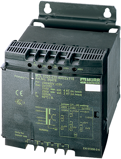 MTL 1-PHASE SAFETY TRANSFORMER