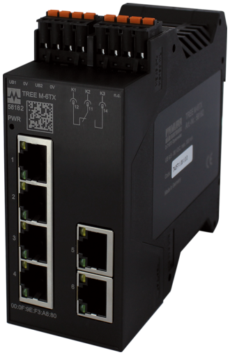 TREE M-6TX Lite managed Switch 6 Ports
