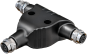 T-coupler M12 male S-coded/ 2x M12 female S-coded