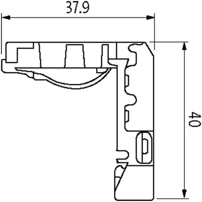 Rj45 Heavy Duty Male 90 Down 8pol Ethernet At Murrelektronik