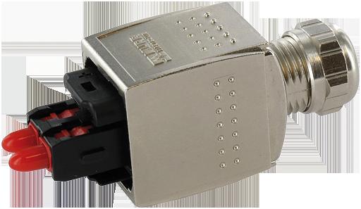 Pushpull scrj pof connector - Pof com se connecter ...