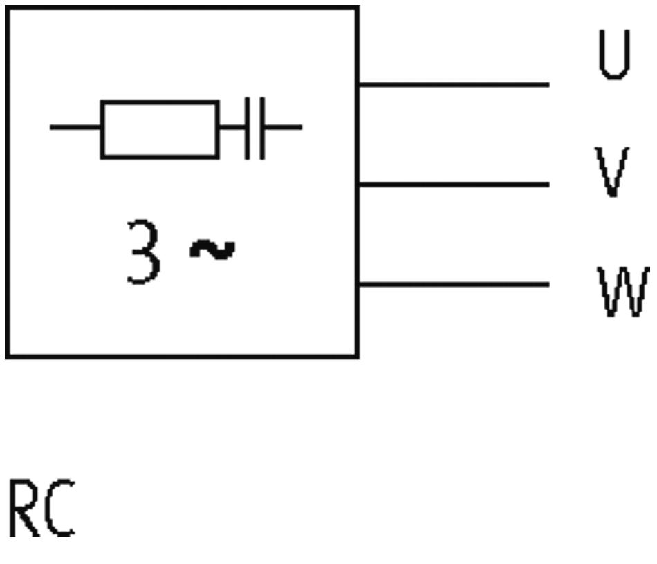 3X400VAC//4KW MURR ELEKTRONIK 23112 RC3R-VG-3X575//4K PG9 VARISTOR Motor Suppressor