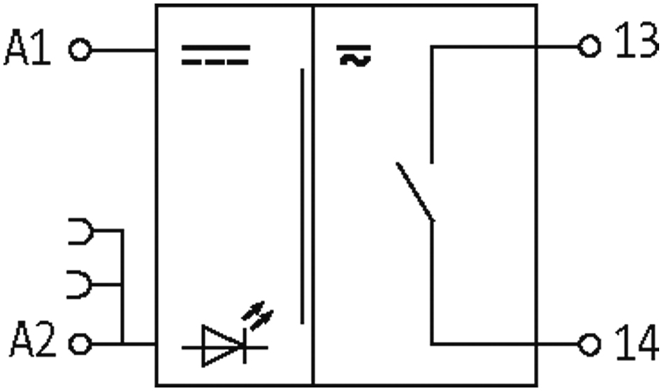 MURR ELEKTRONIK NEW 24VAC//DC 51851 RMM 11//24VDC  RELAY IN