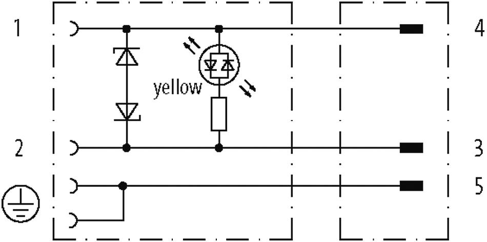 M12 St. ger. auf MSUD Ventilst. BF C 8,0 mm im Murrelektronik Online ...